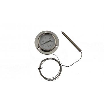 Teploměr kapilární-příruba-0-450°C-kapilára 1500mm
