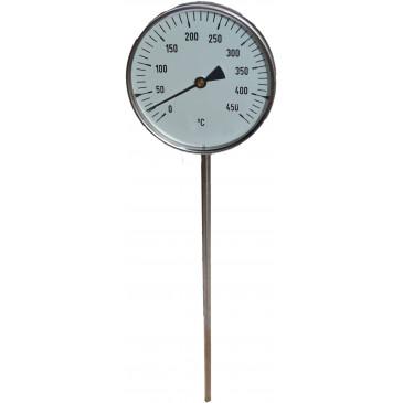 Teploměr TU-100-0-450°C-stonek 250mm+jímka