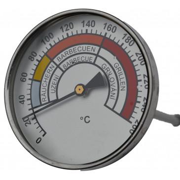 Teploměr do udírny-0-260°-pr.60mm-stonek 100mm