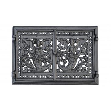 Dvířka ventilační - 3528 - černá