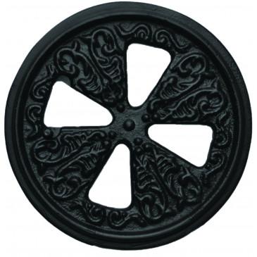 Anemostat - 3580 pr.125 mm - černý