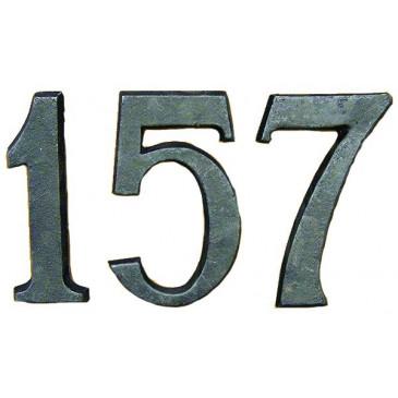 Čísla domovní litinová - 0