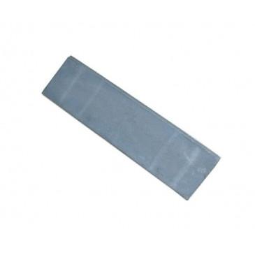 Litinová plotna kamnová plná úzká 630x165