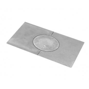 Litinová kamnová plotna COMFORT 405x270 - dělená 1 otvor