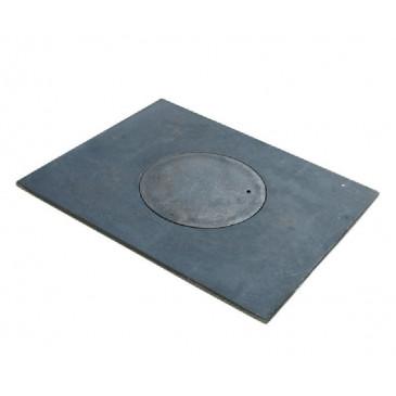 Litinová kamnová plotna Eva  460x360- otvor 200 mm