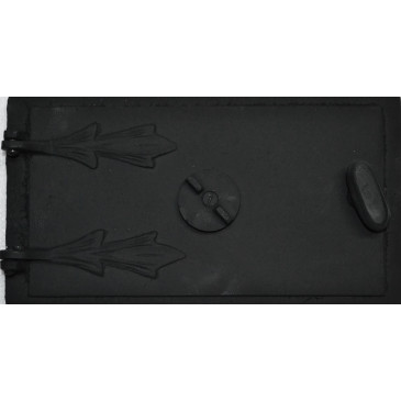 Popelníková dvířka GALINA - černá