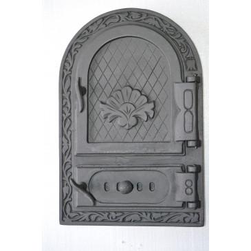 Litinový kamnový štít  -  ROSANA S REGULACÍ