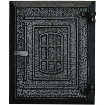 Dvířka komínová - OKNO - nr.60 - černá