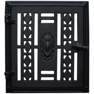 Dvířka ventilační - 3547-černá